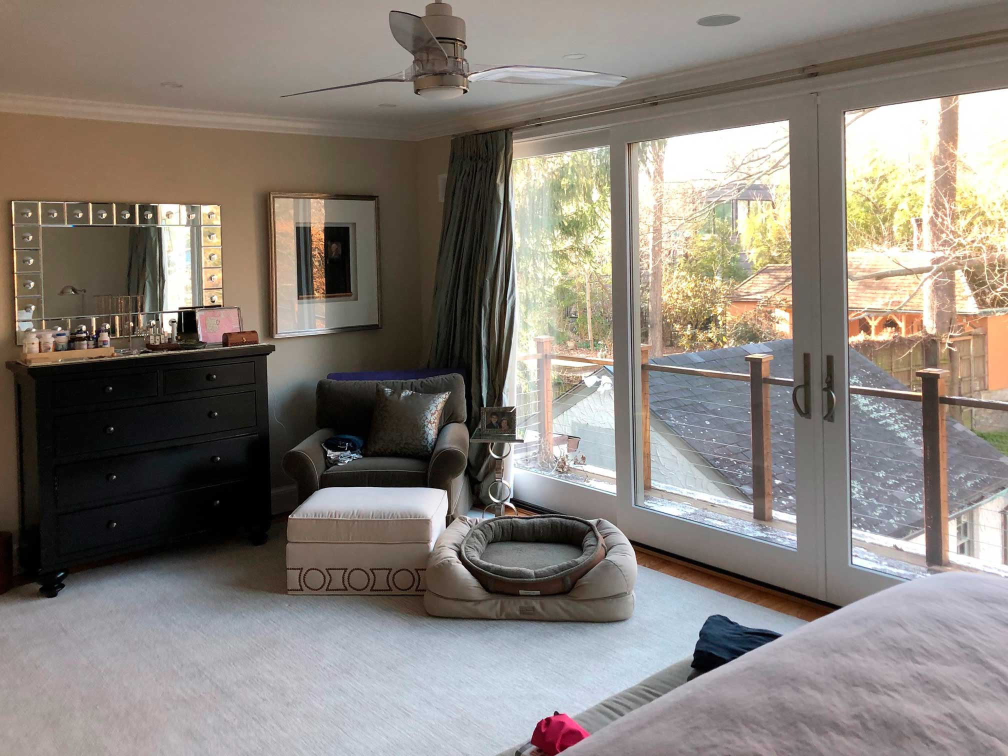 bedroom addition in Forest Hills